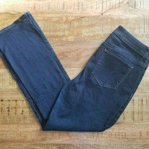 Chico's The Platinum Barely Boot Dark Wash Jeans